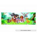 100 pcs - Animal Friends - Disney (by Educa)