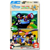 Jigsaw puzzle 16 pcs - Mickey Mouse Clubhouse - Disney (by Educa)