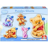 Jigsaw puzzle 3 pcs - Winnie The Pooh - Disney (by Educa)
