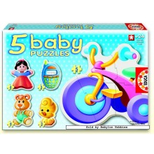 Jigsaw puzzle 3 pcs - Toys - Baby (by Educa)