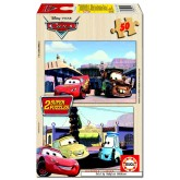Jigsaw puzzle 50 pcs - Cars (2x) - Disney (by Educa)