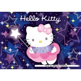 Jigsaw puzzle 100 pcs - Hello kitty the magic fairy - 3D Effect (by Ravensburger)
