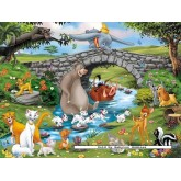 Jigsaw puzzle 24 pcs - Disney Animal Friends - Floor puzzles (by Ravensburger)