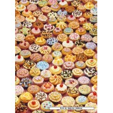 Jigsaw puzzle 500 pcs - Cupcakes (by Ravensburger)