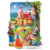 Jigsaw puzzle 20 pcs - Hansel and Grethel - Shaped (by Castorland)