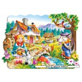 Jigsaw puzzle 20 pcs - Little Red Riding Hood - Floor puzzles (by Castorland)