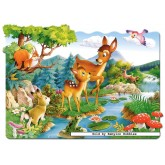 Jigsaw puzzle 20 pcs - Little Deer - Floor puzzles (by Castorland)