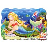 Jigsaw puzzle 20 pcs - Little Mermaid - Floor puzzles (by Castorland)