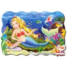 Jigsaw puzzle 20 pcs - Little Mermaid - Floor puzzles (by Castorland)