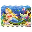 20 pcs - Little Mermaid - Floor puzzles (by Castorland)