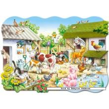 Jigsaw puzzle 20 pcs - Farm - Floor puzzles (by Castorland)