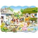 20 pcs - Farm - Floor puzzles (by Castorland)