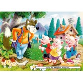 Jigsaw puzzle 60 pcs - Three Little Pigs (by Castorland)