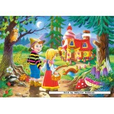 Jigsaw puzzle 60 pcs - Hansel and Grethel (by Castorland)