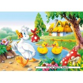 Jigsaw puzzle 60 pcs - The Ugly Duckling (by Castorland)