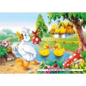 60 pcs - The Ugly Duckling (by Castorland)