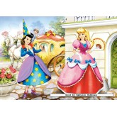 Jigsaw puzzle 60 pcs - Cinderella (by Castorland)