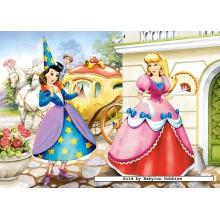 Jigsaw puzzle 60 pcs - Cinderella (by Castorland)