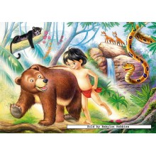 Jigsaw puzzle 60 pcs - Jungle book (by Castorland)