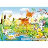 Jigsaw puzzle 60 pcs - Little Dear (by Castorland)