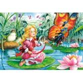 Jigsaw puzzle 60 pcs - Thumbelina (by Castorland)