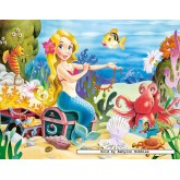Jigsaw puzzle 60 pcs - Little Mermaid (by Castorland)