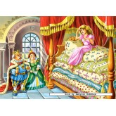 Jigsaw puzzle 60 pcs - The Princess on the Pea (by Castorland)