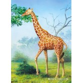 Jigsaw puzzle 60 pcs - Giraffe (by Castorland)