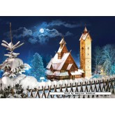 Jigsaw puzzle 1000 pcs - Wang Church, Poland (by Castorland)