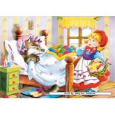 Jigsaw puzzle 120 pcs - Little Red Riding Hood (by Castorland)