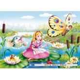 Jigsaw puzzle 120 pcs - Thumbelina (by Castorland)