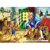 Jigsaw puzzle 120 pcs - Pinocchio (by Castorland)