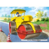 Jigsaw puzzle 120 pcs - Road Roller (by Castorland)