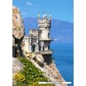 1500 pcs - Swallow's Nest, Crimea (by Castorland)
