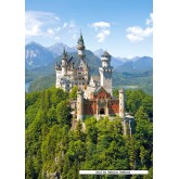 Jigsaw puzzle 1500 pcs - Neuschwanstein (by Castorland)