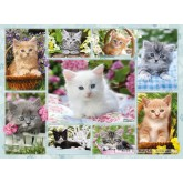 500 pcs - Kittens in Basket (by Ravensburger)