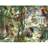 Jigsaw puzzle 2000 pcs - Jungle Impressions (by Ravensburger)