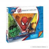 100 pcs - Marvel Heroes - Marvel (by Mega Puzzles)