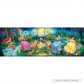 Jigsaw puzzle 1000 pcs - Disney Princess - Panorama (by Clementoni)