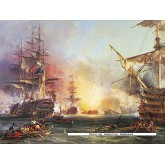Jigsaw puzzle 3000 pcs - Bombardement of Algiers - Original (by Ravensburger)