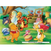 Jigsaw puzzle 200 pcs - Winnie the Pooh: Carnival - XXL (by Ravensburger)