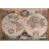 Jigsaw puzzle 5000 pcs - Antique World Map - Original (by Ravensburger)