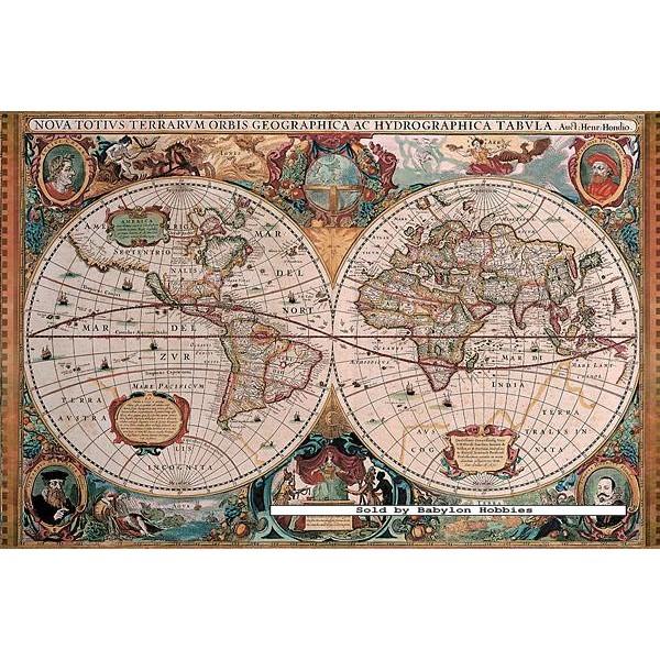5000 pcs antique world map original by ravensburger babylon jigsaw puzzle 5000 pcs antique world map original by ravensburger loading zoom gumiabroncs Images