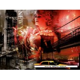 Jigsaw puzzle 1500 pcs - Artistic New York (by Ravensburger)