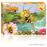 Jigsaw puzzle 35 pcs - Maya The Bee (by Studio 100)