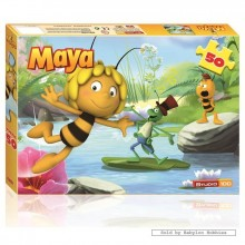 Jigsaw puzzle 50 pcs - Maya The Bee 3D (by Studio 100)