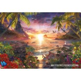 Jigsaw puzzle 18000 pcs - Paradise Sunset - David Penfound (by Ravensburger)
