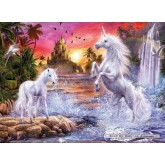 500 pcs - Unicorns in the river - Starline (by Ravensburger)