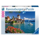 Jigsaw puzzle 1000 pcs - On the Lake of Thun, Bern (by Ravensburger)