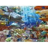Jigsaw puzzle 1500 pcs - Life underwater (by Ravensburger)